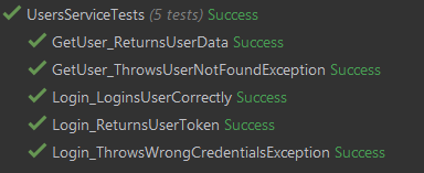 Naming tests with objects under test and expected outcomes named, for example: GetUser_ReturnsUserData