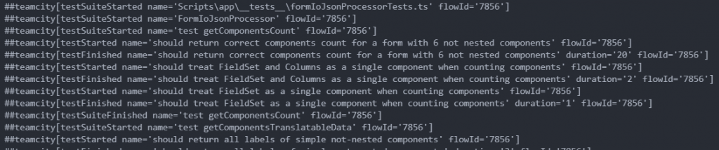 TeamCity-formatted jest tests results in VS Code console